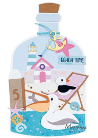 Craft stencil PS8092 - Message in a bottle by Marleen