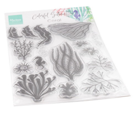 CS1062 Clear stamps - Colorfull Silhouette - Coral