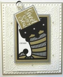 Craft Dies Stocking Gift Card Holder CED3085