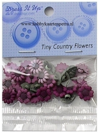 Dress It Up: Tiny Country Flowers 1783