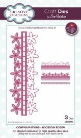 Craft Dies Blossom Edger CED6410
