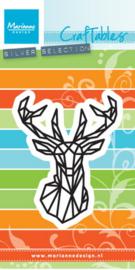 Craftables CR1445 Geometric deer