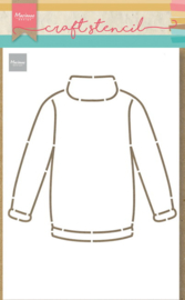 Craft stencil PS8076 Sweater