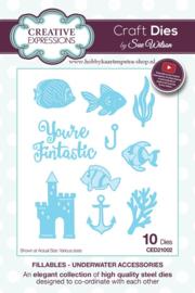Craft Dies Underwater Accessories CED21002