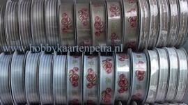 Rosa Dotje Stitched blauw 4515