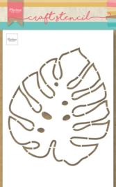 Craft stencil PS8066 - Monstera leaf