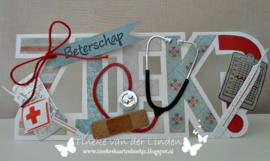 Dutch Card Art Text 'ziek' 470.713.641