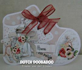 Dutch  Card Art Baby shoe 470.713.838
