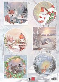 EWK1286 - Winter wishes - Fox