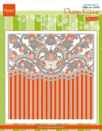 Design Folder + Die Anja's Anja's ornamental border DF3443