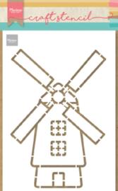 Craft stencil PS8058 Windmill