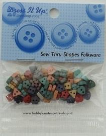 Dress It Up: Sew Thru Shapes Folkware 2214