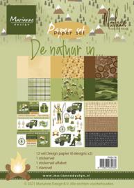 PK9176 - De natuur in by Marleen (A5)