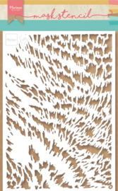 Craft stencil PS8028 Tiny's cat fur