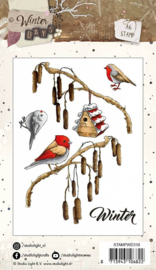 Clear stamps Studio Light Winter Days, nr.310