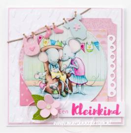 Clear stamps CS1051 - Hangeschreven - Baby