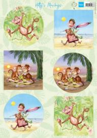 HK1710 - Hetty's Monkeys