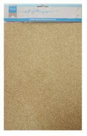 CA3143 Soft glitter paper - gold