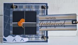 Clear stamps CS1049 - Handgeschreven - van Harte