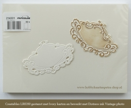 Original Metallic 214331 Ivory. (Pak 50 vellen)