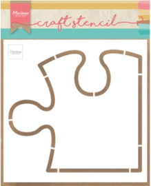 Craft stencil PS8052 Puzzle