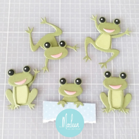 Craftables CR1514 Frogs