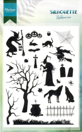 Clear stamps CS1039 - Silhouette Halloween
