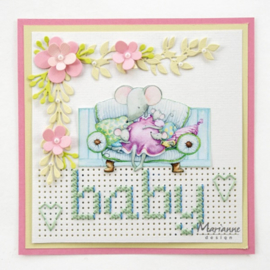 Craftables CR1473 - Cross stitch border