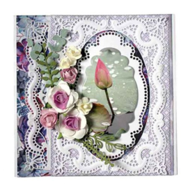 Joy Crafts  - Noor -  Border Valerie 	6002/1373