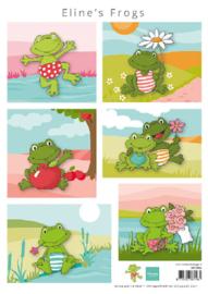 AK0084  Eline's Frogs