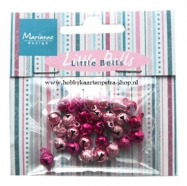 Bells light pink & dark pink JU0939