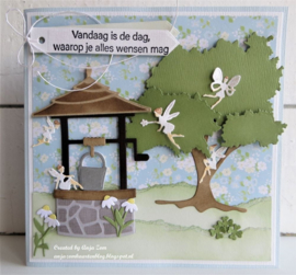 Craftables CR1540 - Wishing Well by Marleen