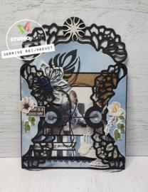 Embossing Die Cut - Die Cardshape Celebrate new beginnings nr. 379