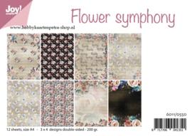 Paper bloc Flower symphony 6011/0550