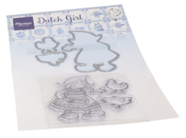 Clear stamps HT1652 Hetty's Dutch girl