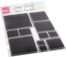 CS1081 - Colorful Silhouette - Basic Squares