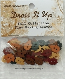 Dress It Up: Fall Collection Tiny Raking Leaves 4874