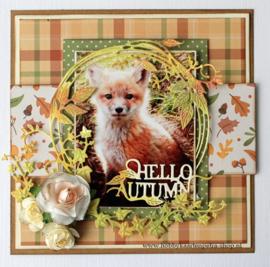 Joy Crafts  Noor - Herfst cirkel 6002/1045