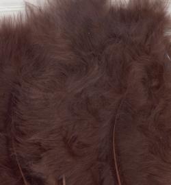 Marabou veertjes Brown 2814