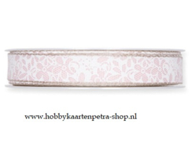 KH1013 Flowers, Pale Rose (Cotton) 15mm
