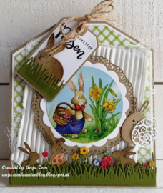 Creatables LR0590 Easter pins