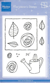 MZ1901 Clear stamps - Marjoleine's roses