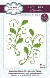 Craft Dies Oak Leaf Swag CED1493