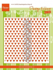Design Folder Triangles DF3428