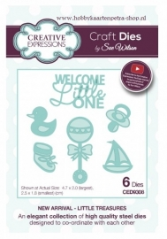 Craft Dies Little Treasures CED9308