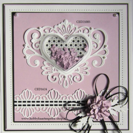 Craft Dies Jewelled Heart CED21005