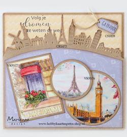 Craftables CR1472 - Around the world Border