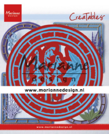 Creatables LR0648 - Blue bell circle
