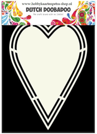 Dutch  Shape Art Heart tag 470.713.153