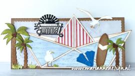 Creatables  LR0717 - Surfboard & Flippers